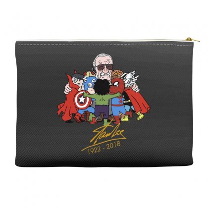 Memorial Rip Stan Lee The Father Of Heroes Accessory Pouches Designed By Vr46