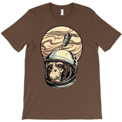 Space Monkey T-shirt Designed By Omer Acar