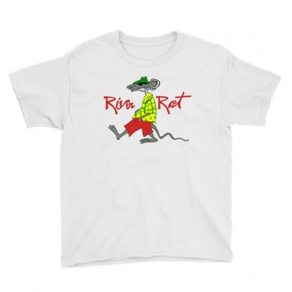 River Rat Youth Tee Designed By Paverceat