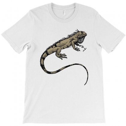Hungry Lizard T-shirt Designed By Ninabobo