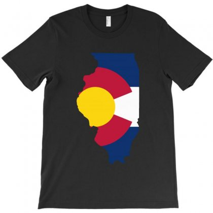 Coloradan Illinoisan T-shirt Designed By Ninabobo