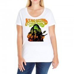 king gizzard Ladies Curvy T-Shirt | Artistshot