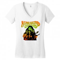 king gizzard Women's V-Neck T-Shirt | Artistshot