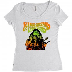 king gizzard Women's Triblend Scoop T-shirt | Artistshot