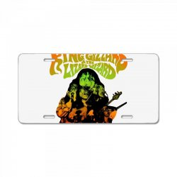 king gizzard License Plate | Artistshot