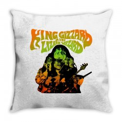 king gizzard Throw Pillow | Artistshot