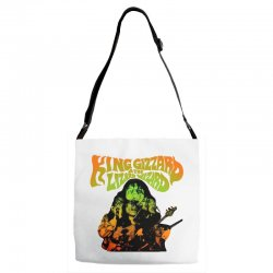 king gizzard Adjustable Strap Totes | Artistshot