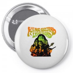 king gizzard Pin-back button | Artistshot