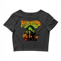 king gizzard Crop Top | Artistshot