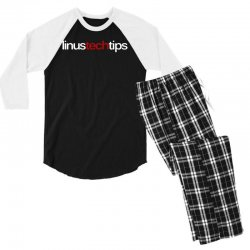 linus tech tips Men's 3/4 Sleeve Pajama Set | Artistshot