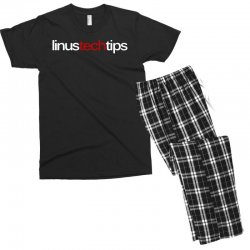 linus tech tips Men's T-shirt Pajama Set | Artistshot