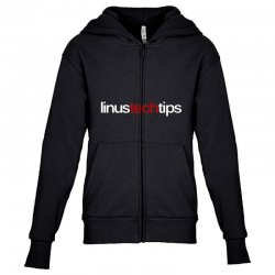 linus tech tips Youth Zipper Hoodie | Artistshot