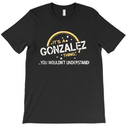 Limited Edition   Gonzalez T-shirt Designed By Ninabobo