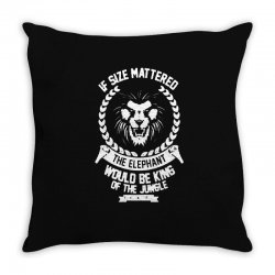 lady and the gramp Throw Pillow | Artistshot