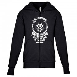 lady and the gramp Youth Zipper Hoodie | Artistshot