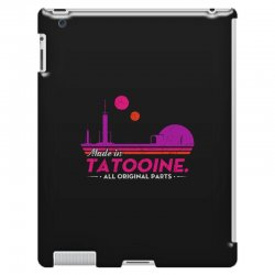 made in tatooine. all original parts. iPad 3 and 4 Case | Artistshot