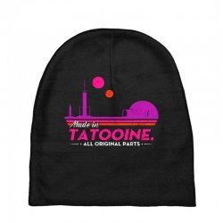 made in tatooine. all original parts. Baby Beanies | Artistshot