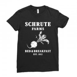 schrute farms bed and breakfast Ladies Fitted T-Shirt | Artistshot