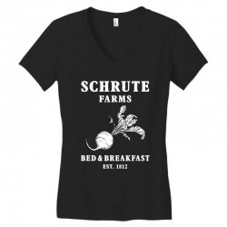 schrute farms bed and breakfast Women's V-Neck T-Shirt | Artistshot