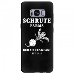 schrute farms bed and breakfast Samsung Galaxy S8 Plus Case | Artistshot