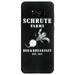 schrute farms bed and breakfast Samsung Galaxy S8 Case | Artistshot