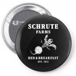 schrute farms bed and breakfast Pin-back button | Artistshot