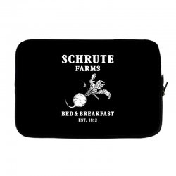 schrute farms bed and breakfast Laptop sleeve | Artistshot