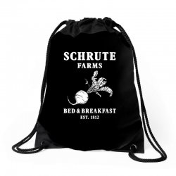 schrute farms bed and breakfast Drawstring Bags | Artistshot