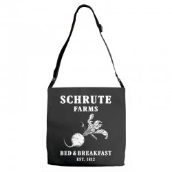 schrute farms bed and breakfast Adjustable Strap Totes | Artistshot