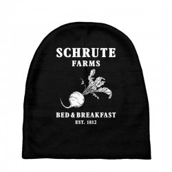 schrute farms bed and breakfast Baby Beanies | Artistshot