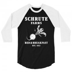 schrute farms bed and breakfast 3/4 Sleeve Shirt | Artistshot