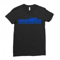 unanimous cooperstown, new york Ladies Fitted T-Shirt | Artistshot