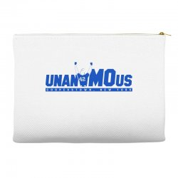 unanimous cooperstown, new york Accessory Pouches | Artistshot