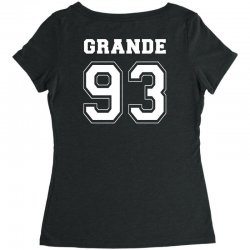 grande 93 Women's Triblend Scoop T-shirt | Artistshot