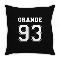 grande 93 Throw Pillow | Artistshot