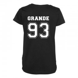 grande 93 Maternity Scoop Neck T-shirt | Artistshot