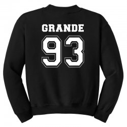 grande 93 Youth Sweatshirt | Artistshot