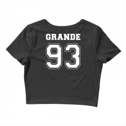 grande 93 Crop Top | Artistshot