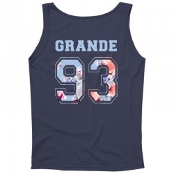 ariana grande 93 with floral pattern Tank Top | Artistshot