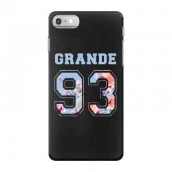 ariana grande 93 with floral pattern iPhone 7 Case | Artistshot