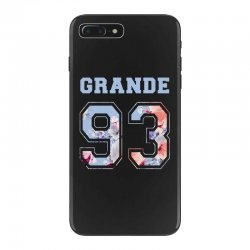ariana grande 93 with floral pattern iPhone 7 Plus Case | Artistshot