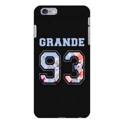 ariana grande 93 with floral pattern iPhone 6 Plus/6s Plus Case | Artistshot