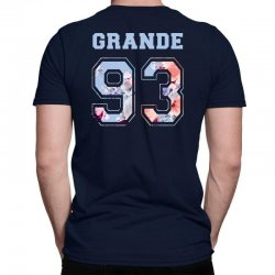 ariana grande 93 with floral pattern Classic T-shirt | Artistshot