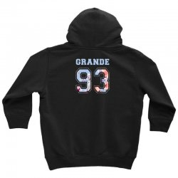 ariana grande 93 with floral pattern Youth Hoodie | Artistshot