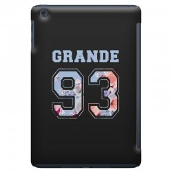 ariana grande 93 with floral pattern iPad Mini Case | Artistshot