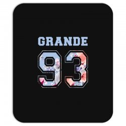 ariana grande 93 with floral pattern Mousepad | Artistshot