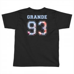 ariana grande 93 with floral pattern Toddler T-shirt | Artistshot