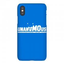 unanimous cooperstown, new york iPhoneX Case | Artistshot