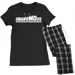 unanimous cooperstown, new york Women's Pajamas Set | Artistshot