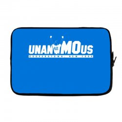 unanimous cooperstown, new york Laptop sleeve | Artistshot